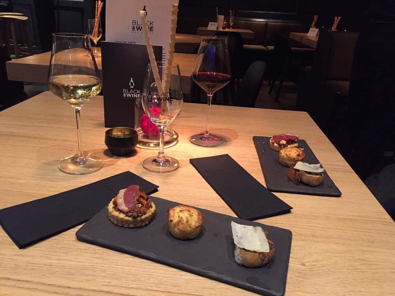 Un apéro au bar à vins Black & Wine – Les rendez-vous de Camille