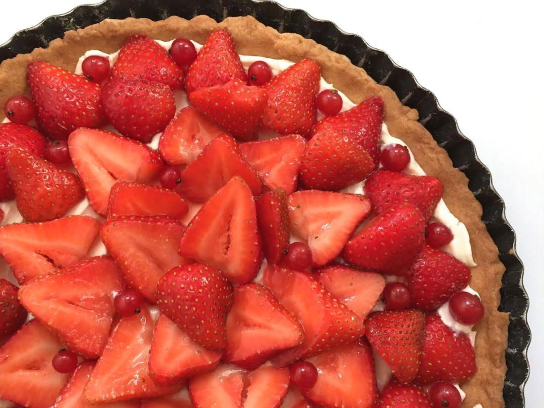 ma tarte fraises mascarpone les rendez vous de camille. Black Bedroom Furniture Sets. Home Design Ideas